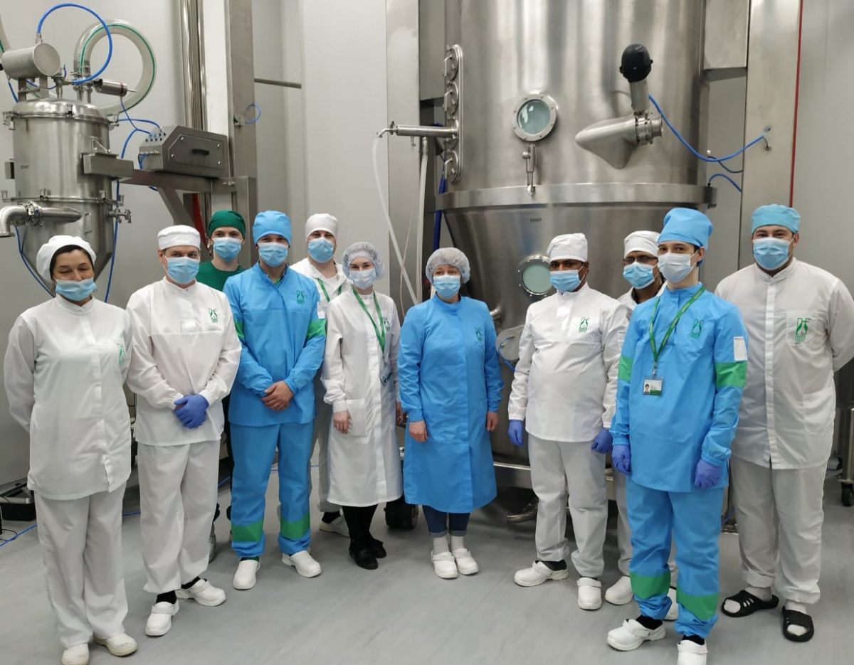 A new production line has been launched at the Irkutsk Pharmasyntez plant